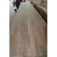 China American Black Walnut solid wood panels finger jionted panels table tops butcher block tops kitchen tops on sale