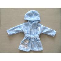 blue baby bath robes,dressing gowns,clothing factory