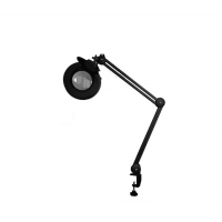 China Magnifying lamp with fluorescent light source 22W magnifier light clamp base 5inch lens 127mm lens factory