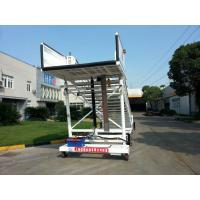 China Flexible Aircraft Passenger Stairs , Steps To Boarding A Plane Easy Maintain factory