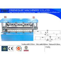 China Cold Formed Steel Sections , Double Profiles C Z  Purlin Roll Forming Machine factory