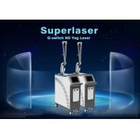Buy cheap 1064nm / 532nm / 1320nm Q Switch Nd Yag Laser / Tattoo Pigmentation Removal from wholesalers