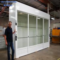 Buy cheap China Laboratory chemical Laminar flow walk in fume hood cabinet for sale price from Wholesalers