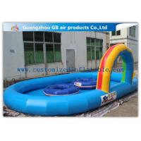 China Large Inflatable Water Pool Water Pond For Backyard With Durable 0.9mm Pvc Tarpaulin factory