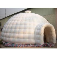 China Outdoor Durable Igloo Dome Tent 7 X 7 X 4 M PVC Tarpaulin For Advertising factory