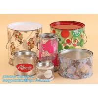China Packaging Empty Airtight Food sealed storage sweets cookies Dry fruit flower Pop corn tuna Clear plastic Nuts pull tab c factory
