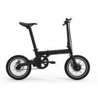 Buy cheap Max 25km/H Folding Electric Bicycle 250W For Adult 16 Inch Frame 1320*580*980mm from Wholesalers