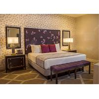 Quality Royal King Size Modern Queen Bedroom Sets  , High Standard Hotel Style Bedroom Furniture wholesale