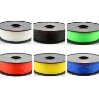 China 1.75mm 3mm Nylon filament,3D printer fllament for Makerbot,muti color,RoHS certificated. factory