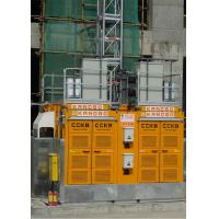Buy cheap Yellow Color Building Site Hoist 8 Rack Module With Frequency Control Motors from Wholesalers
