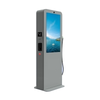 "China Car Charging Station 3000cd/m2 IP65 LCD Digital Signage 43"" factory"