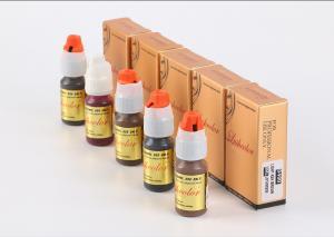 China Tattoo Semi Permanent Makeup Microblading Pigment For Manual Tools factory