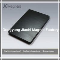 China Ceramic Magnets Block 6 x 4 x 0.5, Package of 1 Hard Ferrite Magnet factory