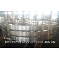 China DIN JIS Stainless rolled steel rings Heat Treatment And Machined factory