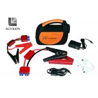 China Lithium Polymer Car Jump Start Battery / 800A Peak Current 24V Truck Jump Starter factory