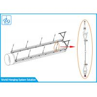 China Ventilation Pipeline Cable Hanging Systems , Exhibition Halls Hanging Track System factory