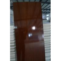 China Mouldproof Plastic Interior Replacement Door Panel No Aspiration With Wooden Grain on sale
