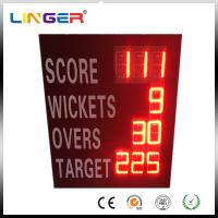 China Waterproof Iron Cabinet Portable Electronic Cricket Scoreboard Low Power Consumption factory