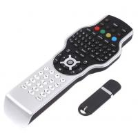wireless remote control for Google with 2.4G RF mini keyboard + jogball mouse + IR learning