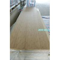Quality Bamboo solid wood panel finger jionted worktops countertops table tops butcher block tops kitchen tops for sale