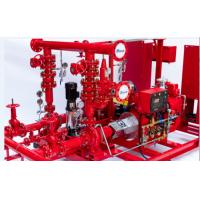 Buy cheap Multi Functional 750 GPM End Suction Fire Pump With Electric Motor Driven 155 PSI from Wholesalers