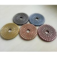 Buy cheap 4 Inch Metal Bond Diamond Polishing Pad , Polishing Tools for Stone and Concrete from Wholesalers