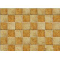 Buy cheap Imitation Ceramic Tile Square Waterproof Wall Panels For Kitchen wall from Wholesalers