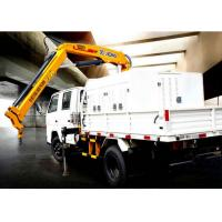 China Durable Lifting Knuckle Boom crane truck mounted 7.5m Max Lifting Height factory