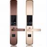 Buy cheap Intelligent Zinc Alloy Fingerprint Door Lock With Super C Class Cylinder from wholesalers