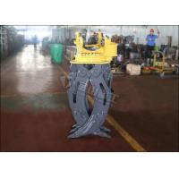 ZX60 Mini Excavator Rotating GrappleHydraulic Timber Grappling Attachment