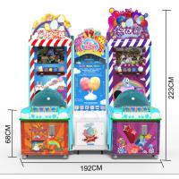 China Marshmallow Amusement Game Machin For Shapping Mall Cotton Candy Game Machine factory