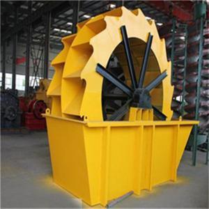 China 15-30 Tph Bucket Wheel Sand Washer Wheel Sand Washing Machine factory