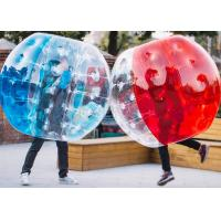 China 1.2m, 1.5m, 1.8m PVC And TPU Human Size Inflatable Bubble Soccer / Football Bumper Ball factory