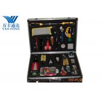China Fusion Splicing Fiber Optic Tool Kit 26 Yools In One Case 430 × 330 × 135 mm on sale