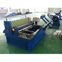 China Wooden Grain / Stucco Embosser Metal Embossing Machine Automatic Cutting for sale