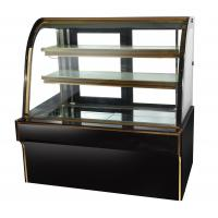 Buy cheap Commercial Cake Display Freezer Flat Top , Marble Cake Display Chiller 2000 X 730 X 1250 from Wholesalers