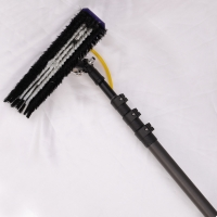 China Fiberglass Gutter Vacuum 15ft Water Fed Window Cleaning Pole factory