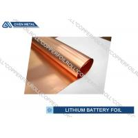 China Li - ion Battery Cathode Basic Material electrodeposited copper foil roll factory