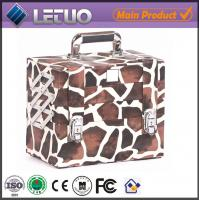 China LT-MC051 Giraffe Compact case beauty makeup cosmetic aluminum case cosmetic case and box on sale