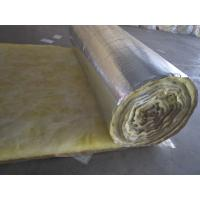 China foil faced glass wool insulation blanket factory