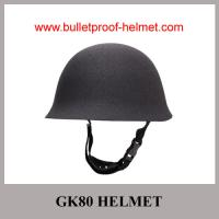 Buy cheap Wholesale Cheap China Army Grey light-weight Steel Police GK80 Bulletproof Helmet from Wholesalers