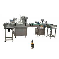 China 304 Stainless Steel Electronic Liquid Filling Machine 10ml - 60ml Filling Volume factory