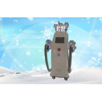 Buy cheap Portable Two Handle Cryotherapy Freeze Fat Machine / Body Shaping Equipment from Wholesalers
