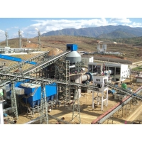 China AGMA Standard 110 TPH 310 T Cement Rotary Kiln for cement plant factory