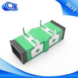 Buy cheap Single mode SC UPC APC  Fiber Optic Adapter / fiber optic coupler from Wholesalers