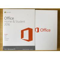 Buy cheap Sealed Box Ms Office 2016 Home Product Key , Microsoft 2016 License Key For 1 PC from Wholesalers