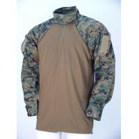 Buy cheap Breathable Wear Resistant Desert Camo Tactical Combat Shirt Woodland For Military from Wholesalers