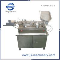 China glass ampoule bottle filling and sealing machine with 2 filling heads for 1-2ml ampoule factory