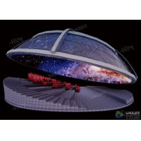 China Dynamic Dome Movie Theater For Major Scenic Spots / Museums / Planetariums factory