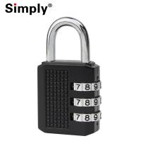 Buy cheap Zinc Alloy Luggage Combination Padlock With Anti Shearing & Anti Shooting Functions from Wholesalers